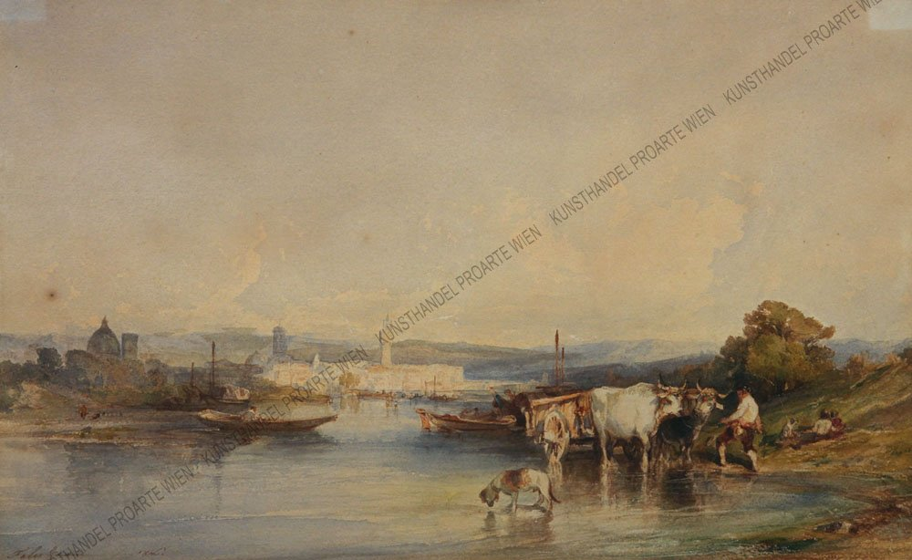 FELIX-ZIEM-1821-–-1911-FLUSSLANDSCHAFT-MIT-FUHRWERK-AquaPap.sign_.dat_.1846
