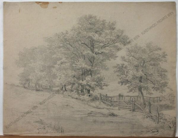 Leopold Munsch - Landschaftsstudie