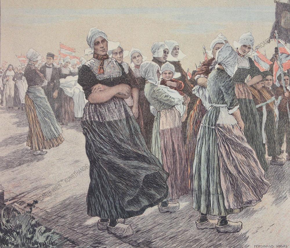 Ferdinand Kruis - Prozession in Volendam