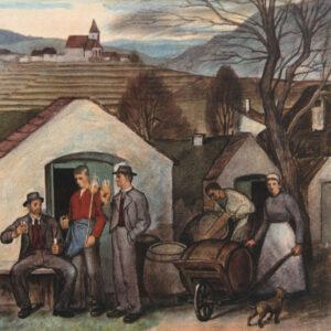Emmerich Sandig - Weinverkostung in der Kellergasse