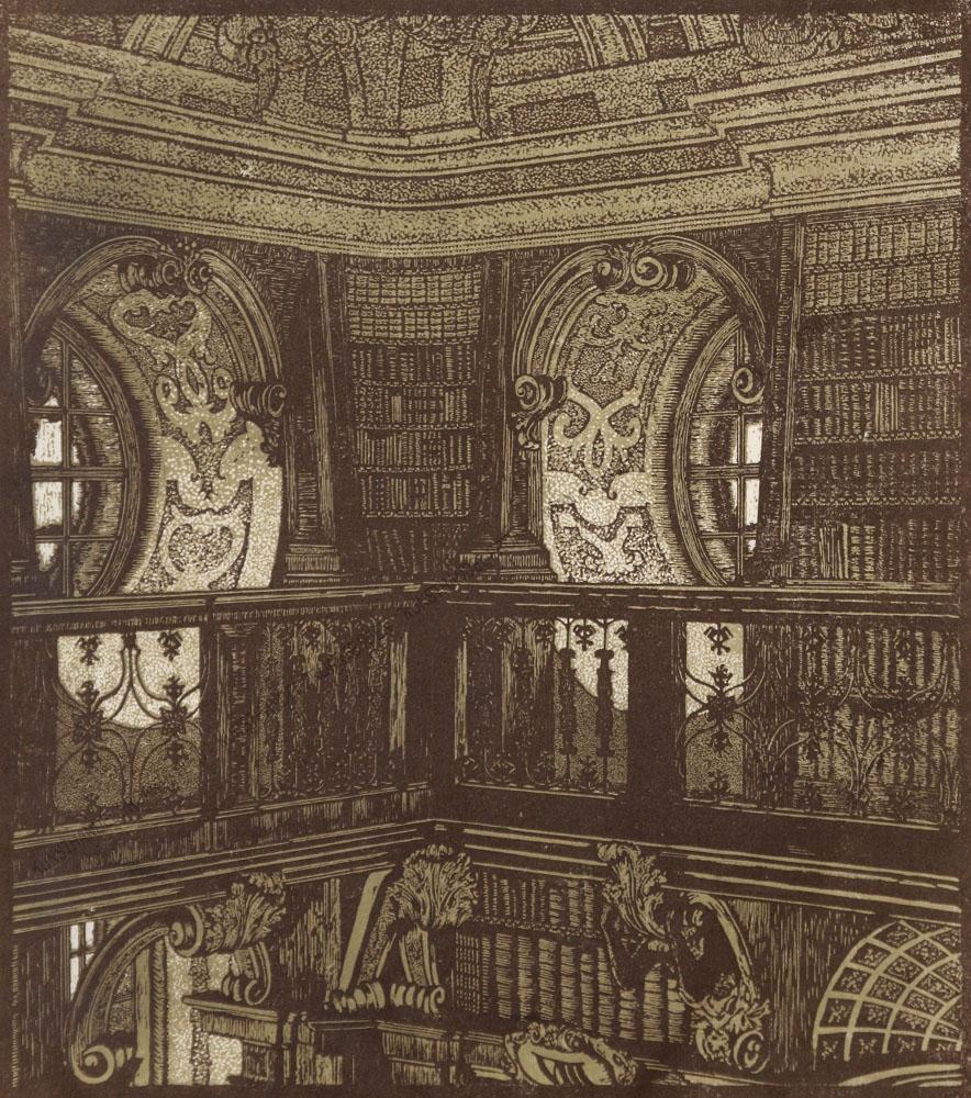 Leopold Blauensteiner -Melk-Stiftsbibliothek