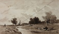 Josefine M. - Flusslandschaft
