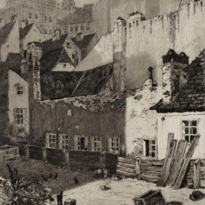 Ilona Wittrich - Hinterhof in der linken Wienzeile
