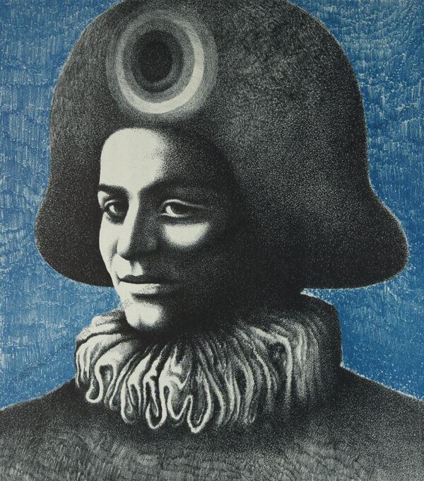Helmut Kies - Kopf des Harlekin IV