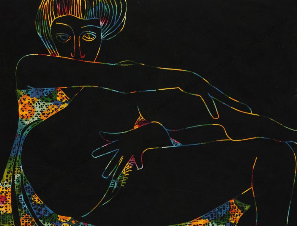 Karl Tomasovsky - Erotischer Frauenakt