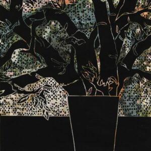 Karl Tomasovsky - Vase mit Zweigen