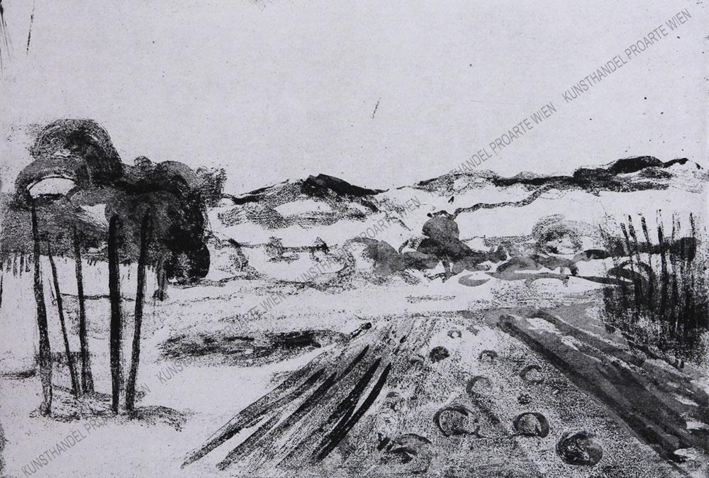 Georg Eisler - Weite Landschaft