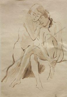 Robert Philippi - Zwei Freundinnen