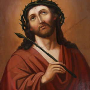Künstler unbekannt - Jesus mit Dornenkrone