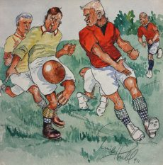 Emil Hübl - Das Fußballspiel