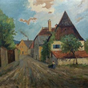 Hans Ruzicka-Lautenschläger - Straße in Weissenkirchen in der Wachau