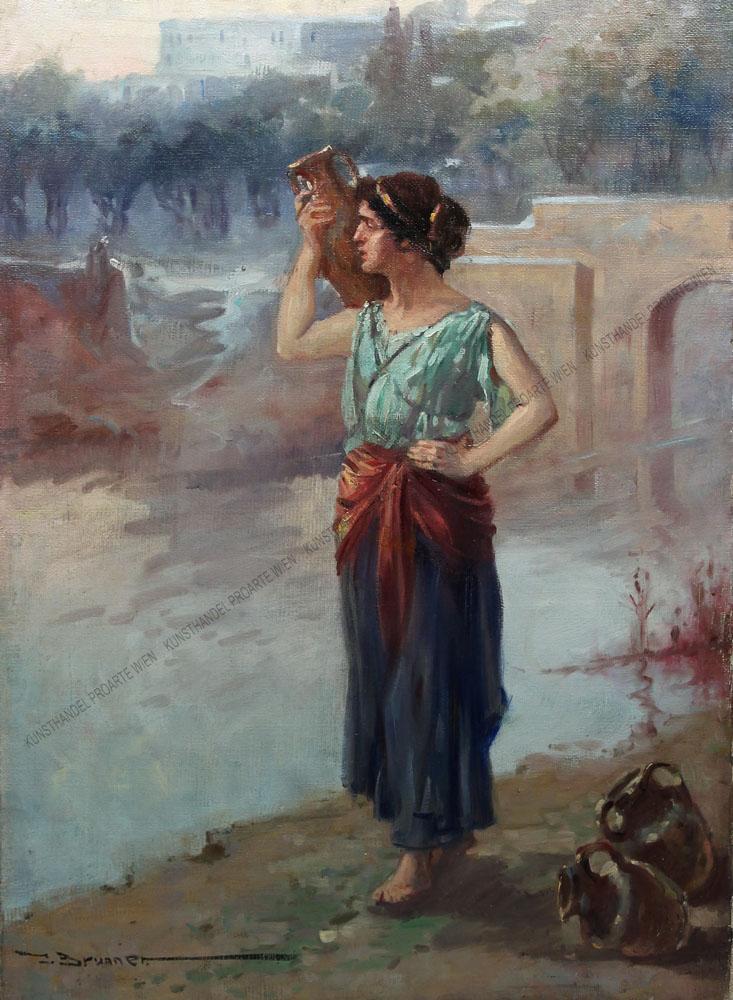 Josef Brunner - Frau mit Krügen