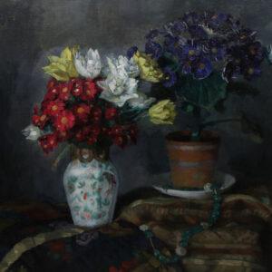 Karl Friedrich Gsur - Blumenstillleben