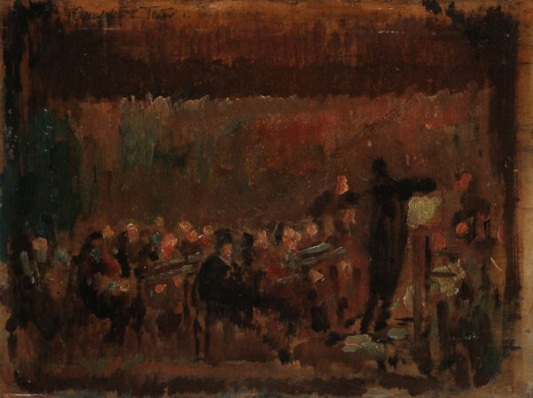 Tadeusz Cybulski - Im Theater
