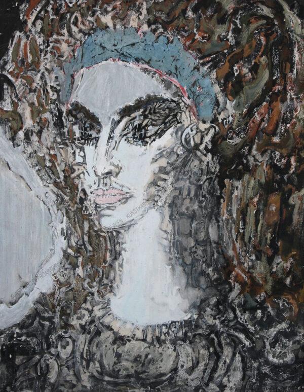 Zdzislaw Lachur - Mädchenkopf - Glowa dziewczyny
