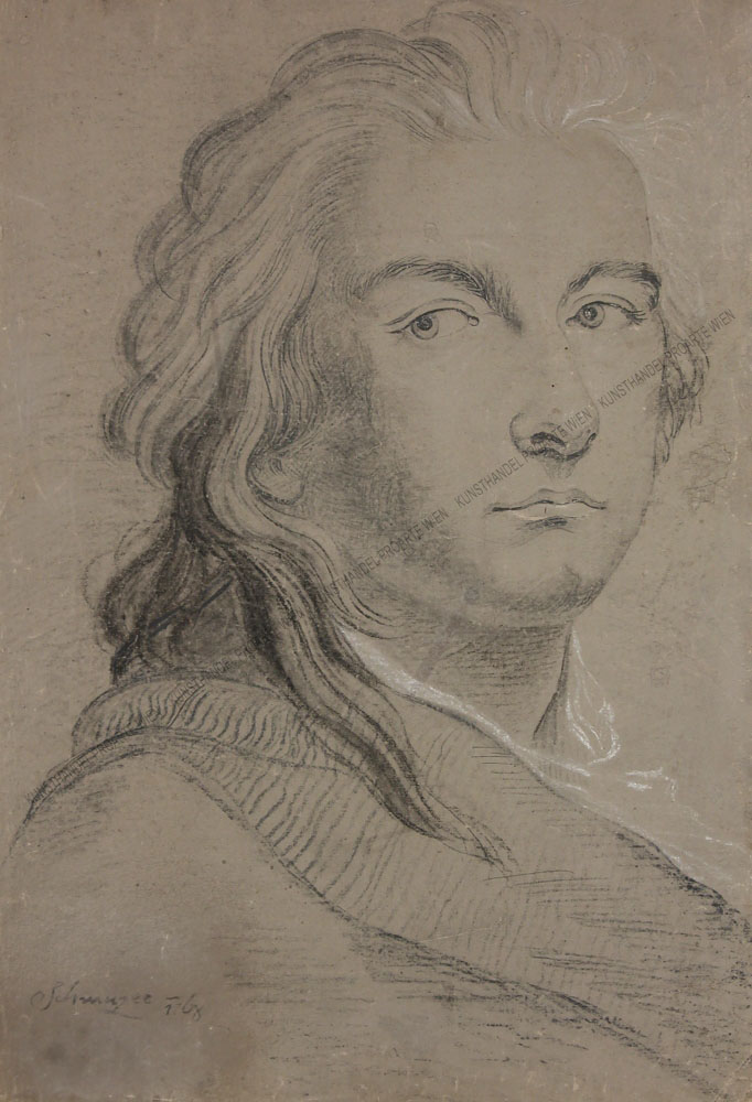 Jacob Matthias Schmuzer - Männerportrait