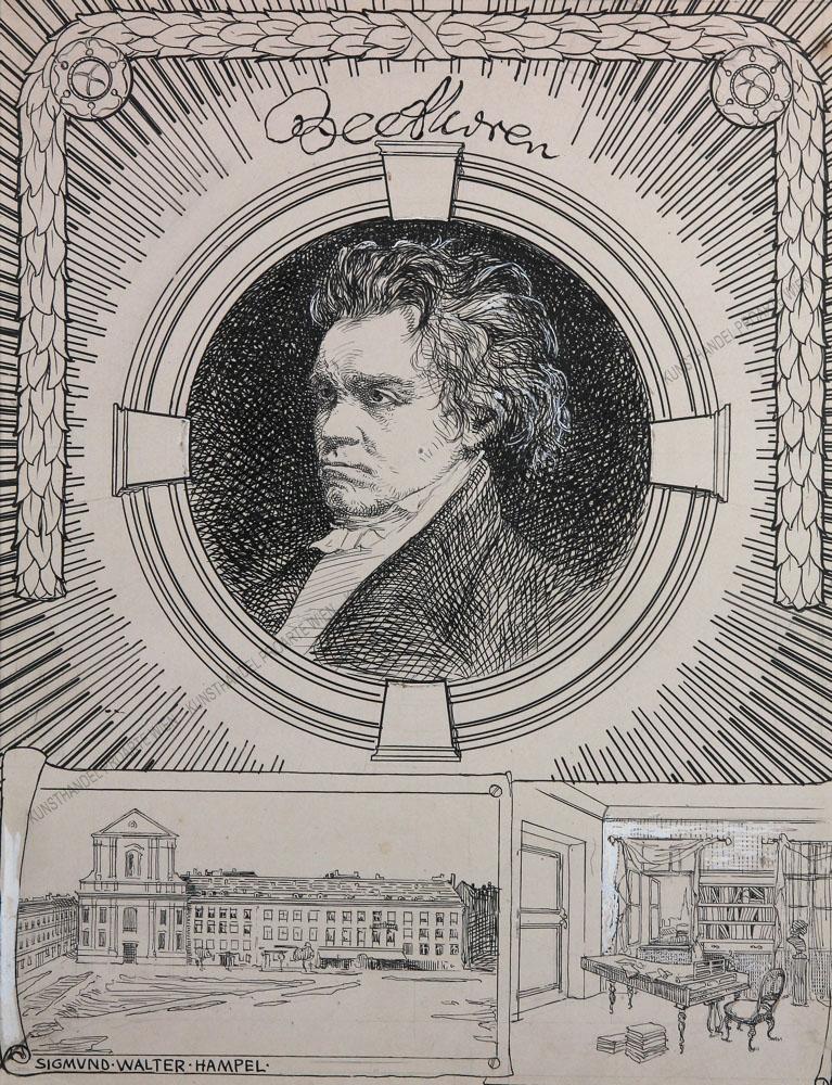 Sigmund Walter Hampel - Ludwig van Beethoven