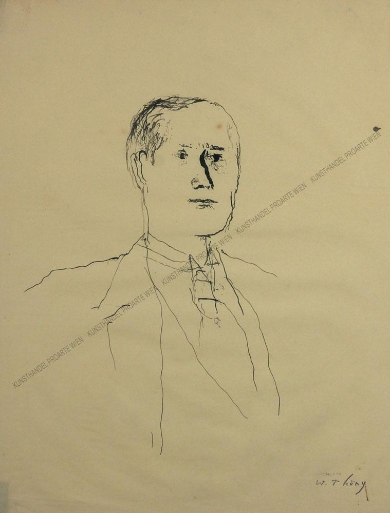 Wilhelm Thöny - Bildnis eines Mannes