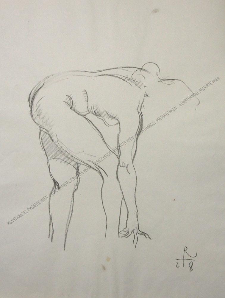 Richard Teschner - Weiblicher Akt
