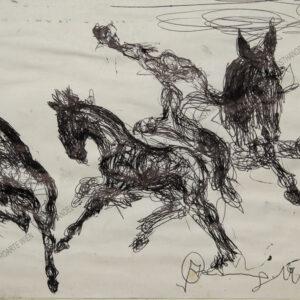 Alfred Czerny - Junge Pferde /Fohlen