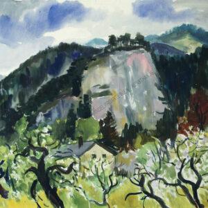 Rudolf Buchner - Blick auf Gutenstein