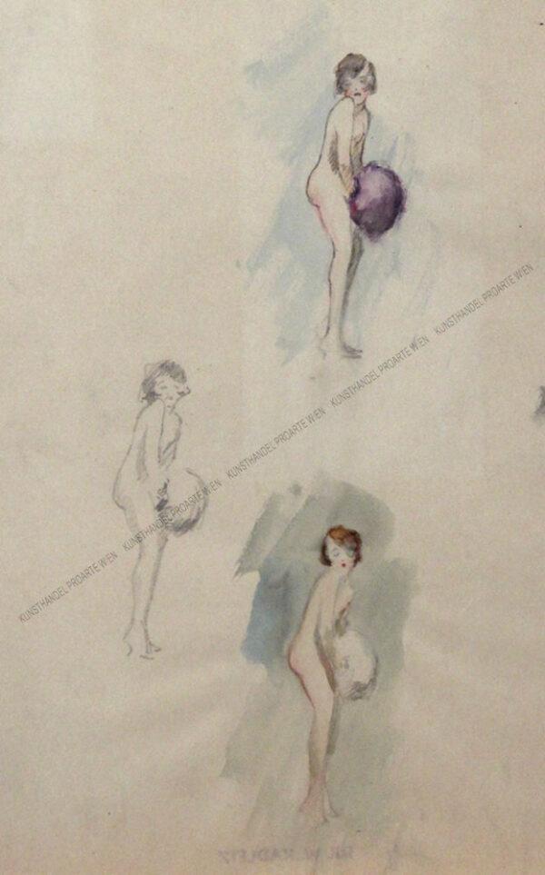 Wilhelm Kadletz - Tänzerin mit Pompom