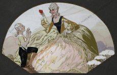 Umberto Brunelleschi - Dame und der junge Kavalier