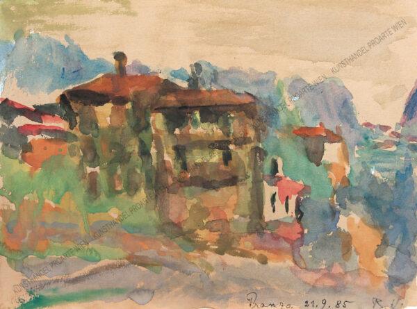 Rudolf Ullik - Pranzo am Gardasee
