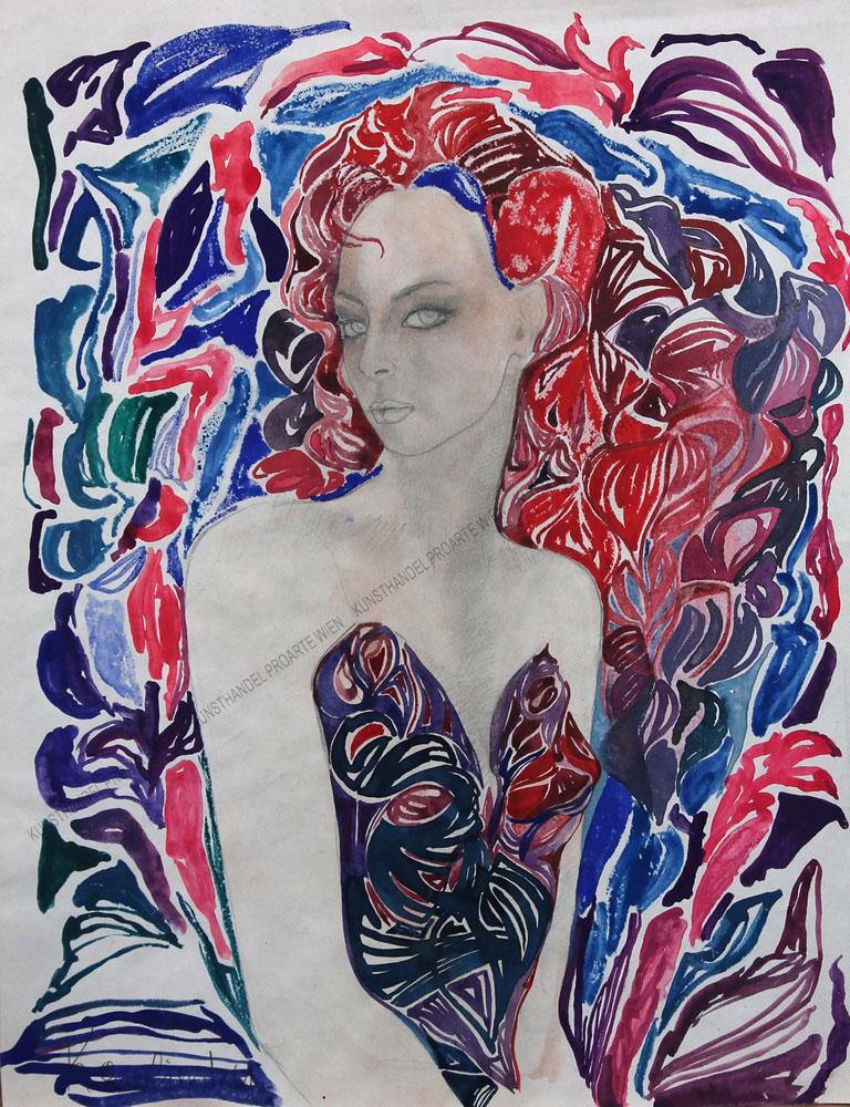 Karolinsky - Darstellung einer schönen, jungen Frau
