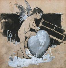 Hegedüs László - Symbolistische Darstellung eines Amors
