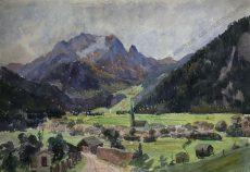 Hubert Landa - Motiv aus Tirol