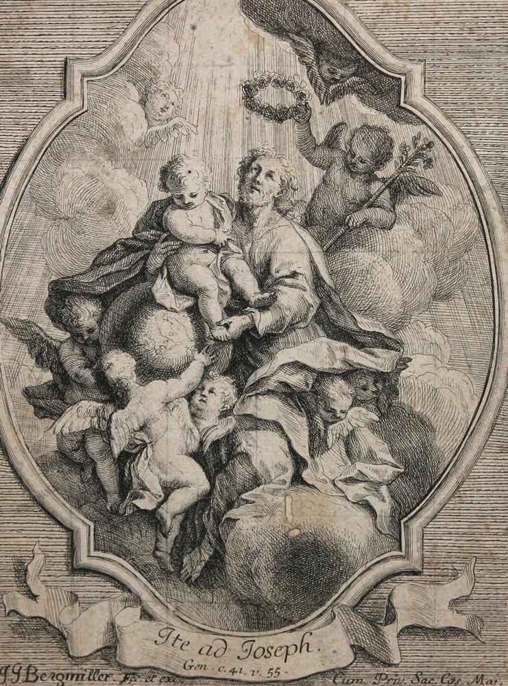 Johann Georg Bergmüller - Ite ad Joseph / Gehet zu Joseph