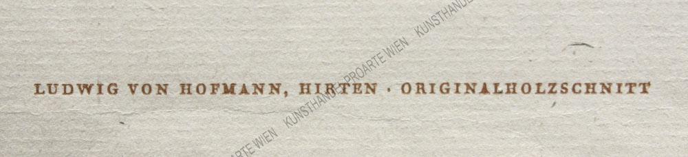 Ludwig von Hofmann - Hirten