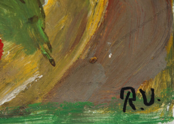 Rudolf Ullik - Abstrakte Landschaft