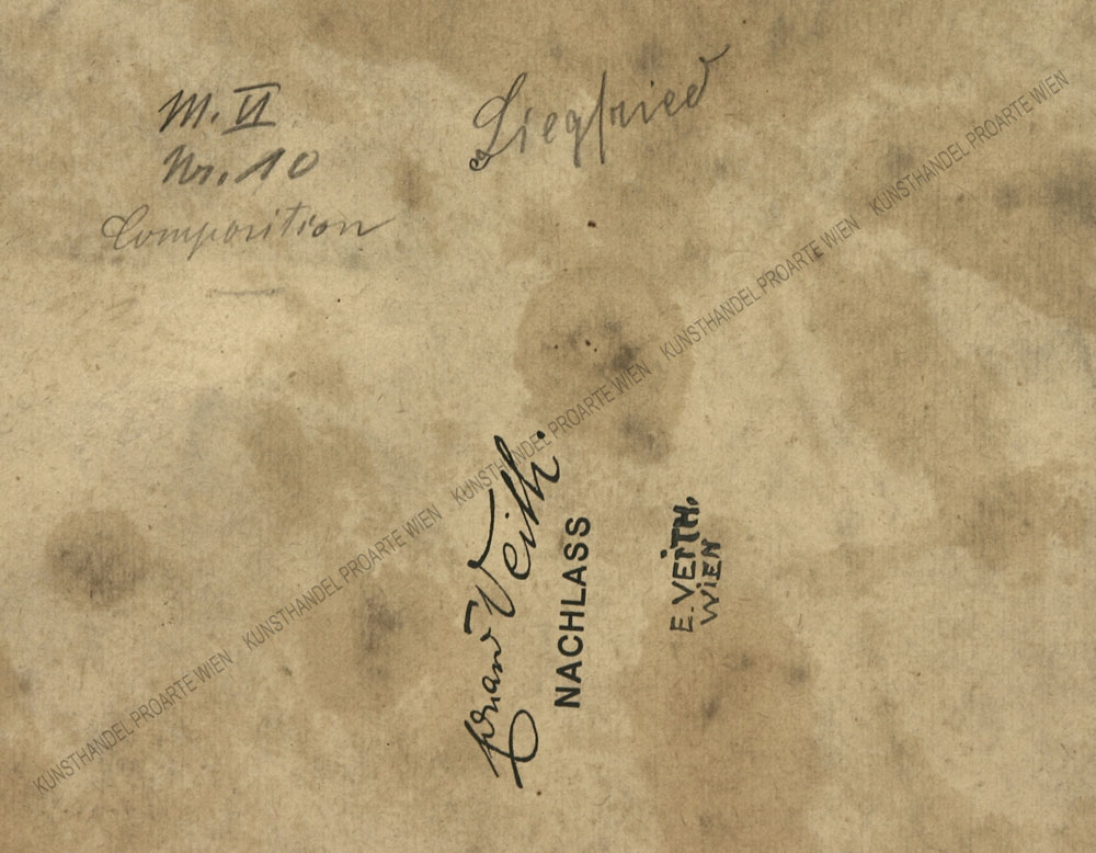 Eduard Veith - Hagen von Tronje und eine Rheintochter