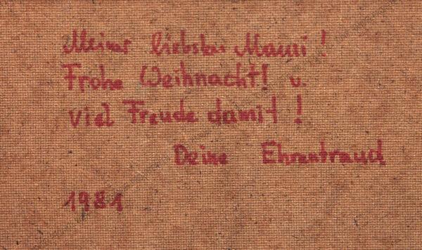 Ehrentraud Heis - Blumenstillleben