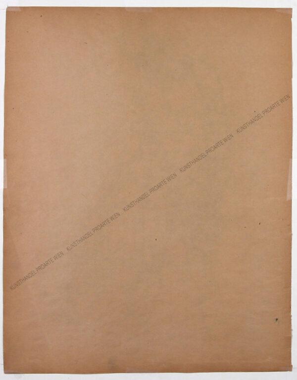 Künstler unbekannt - Hufschmied mit Amboss sowie eine Handstudie