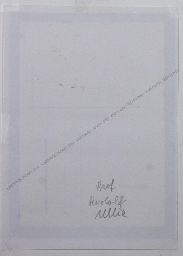 Rudolf Ullik - Motiv aus Salzburg