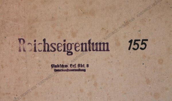 Igo Pötsch - Blick auf Kapellen ( Neuberg an der Mürz) in der Steiermark