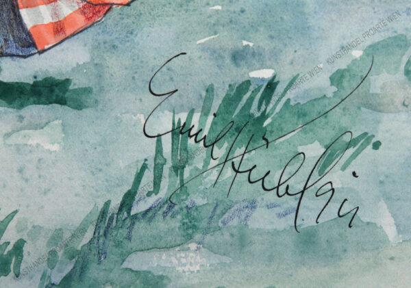 Emil Hübl - Der Torwart