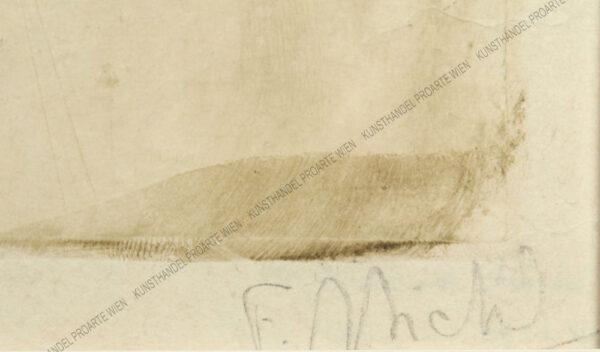 Ferdinand Michl - Dame mit Hündchen