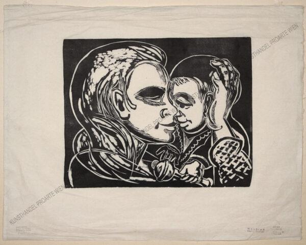 Heinz Steiner - Mutter mit Kind