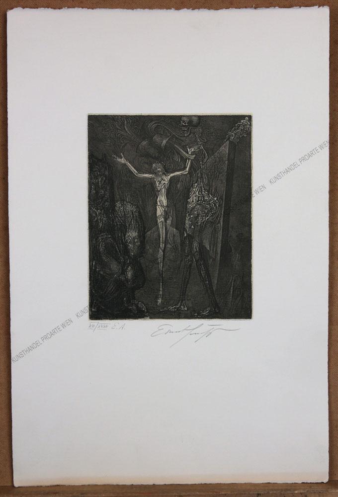 Ernst Fuchs - Totenglocke