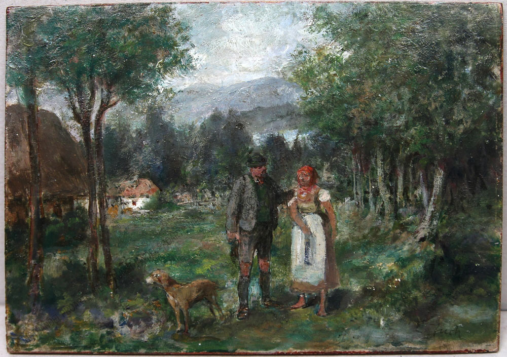 Ernst Juch - Der Jäger und die Magd