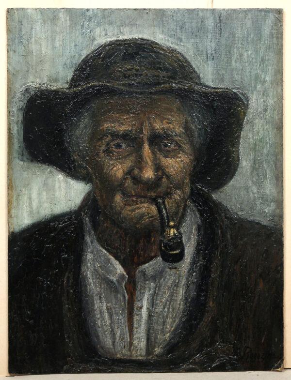 Rogozinski - Charakterkopf eines polnischen Bergbauern (Baca) -Portret Bacy