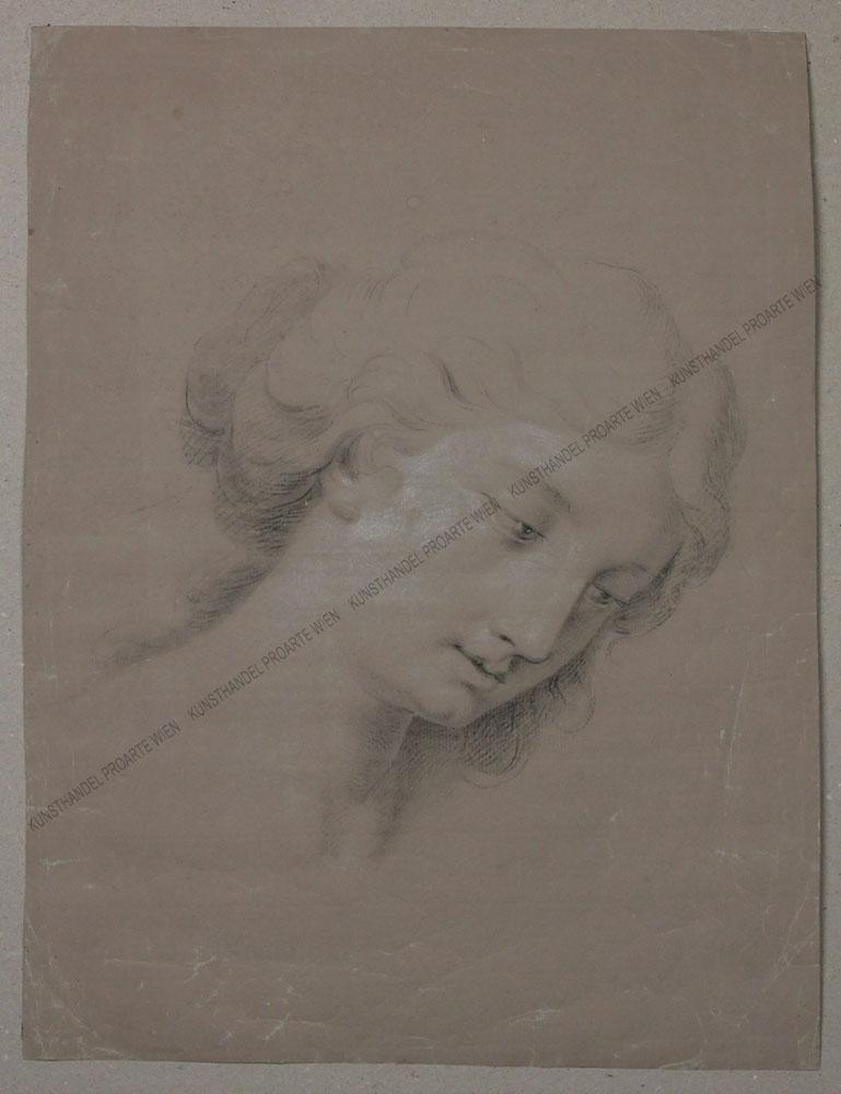 Nazarener - Geneigter Frauenkopf