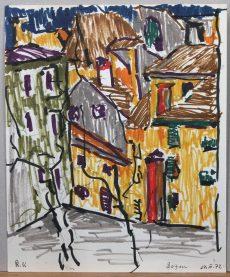 Rudolf Ullik - Motiv aus Bozen