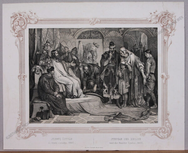 Peter Johann Nepomuk Geiger - Stephan der Heilige und die Familie Gyulas, 1002
