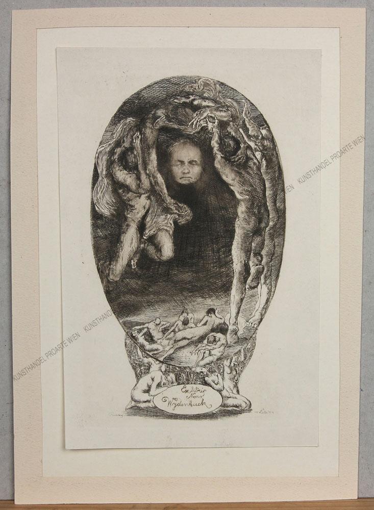 Erhard Amadeus - Dier - Ex Libris für Nora Wydenbruck