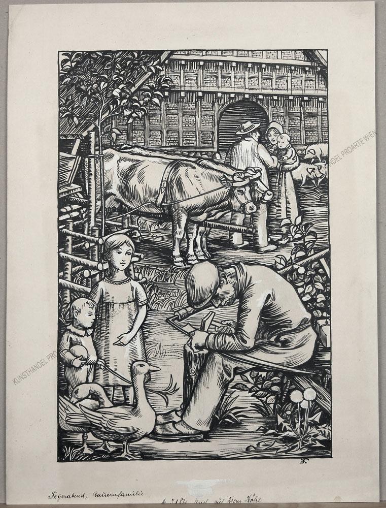 Erich Feyerabend - Bauernfamilie
